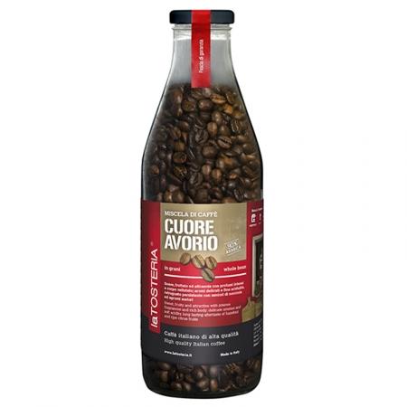 AVO-6-Miscela-di-caffè-Cuore-Avorio-/-bottiglia-350-gr.-grani