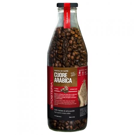 ARA-6-Miscela-di-caffè-Cuore-Arabica-/-bottiglia-350-gr.-grani