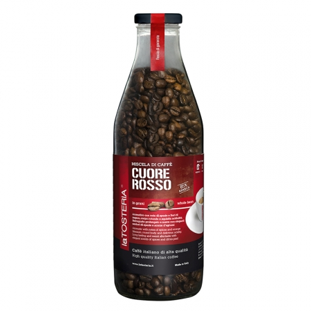 ROS-6-Miscela-di-caffè-Cuore-Rosso-/-bottiglia-350-gr.-grani