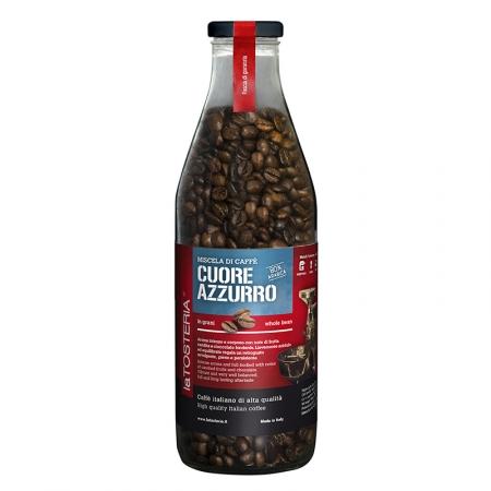 AZZ-6-Miscela-di-caffè-Cuore-Azzurro-/-bottiglia-350-gr.-grani