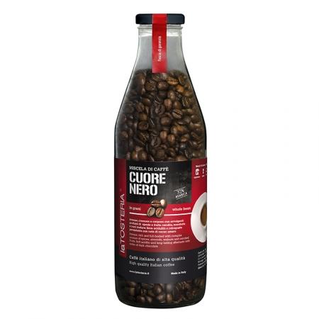 NER-6-Miscela-di-caffè-Cuore-Nero-/-bottiglia-350-gr.-grani