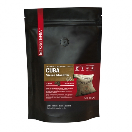CUB-9-S-Caffè-di-singola-origine-Cuba-Sierra-Maestra-/-busta-250-gr.-grani
