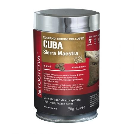 CUB-7-S-Caffè-di-singola-origine-Cuba-Sierra-Maestra-/-latta-250-gr.-grani