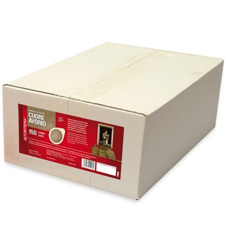 AVO-150-Miscela-di-caffè-Cuore-Avorio-/-confezione-150-cialde